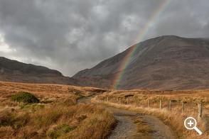 Muckish Mountain 5 Rainbow Road