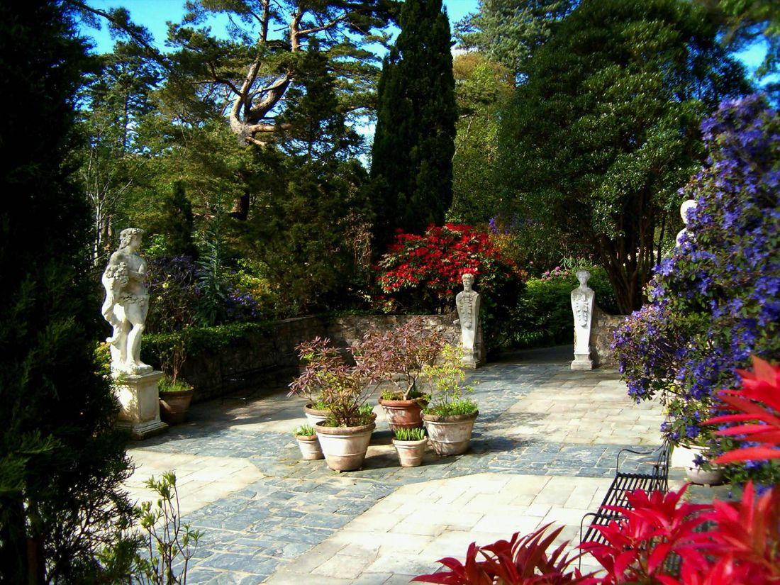 Glenveagh National Park 3 Italian Garden