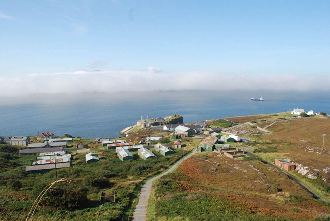Dunree Fort Aerial 3