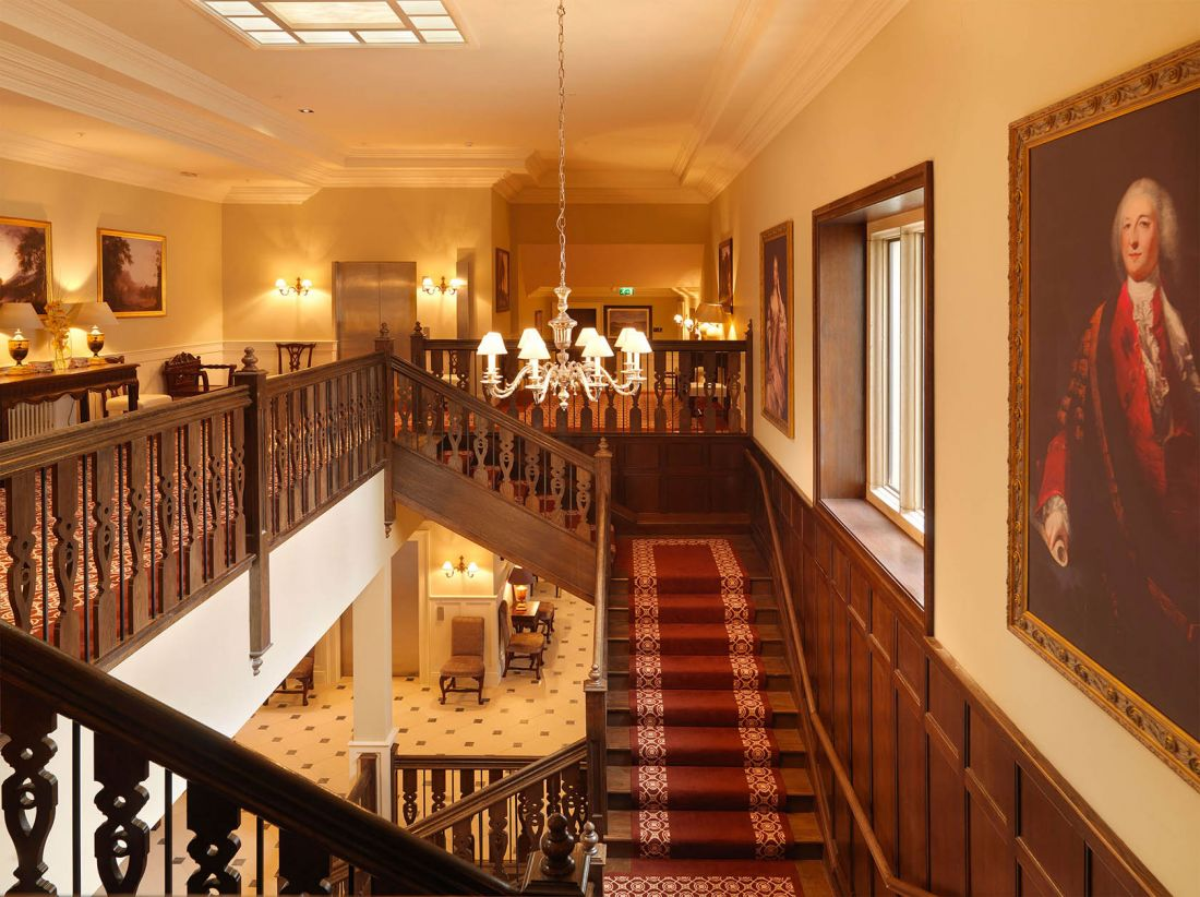 Lough Eske Castle 4 Landing & Stairwell