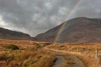Muckish Mountain 5 Rainbow Road